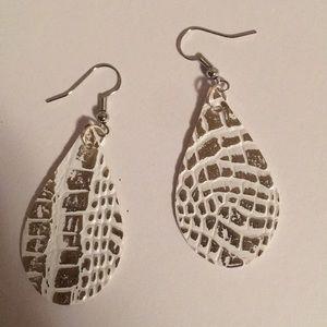 Jewelry - Faux Leather Earrings
